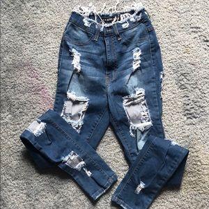 fashion move high waist